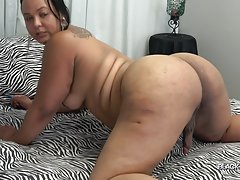 Mystique Strokes And Cums!